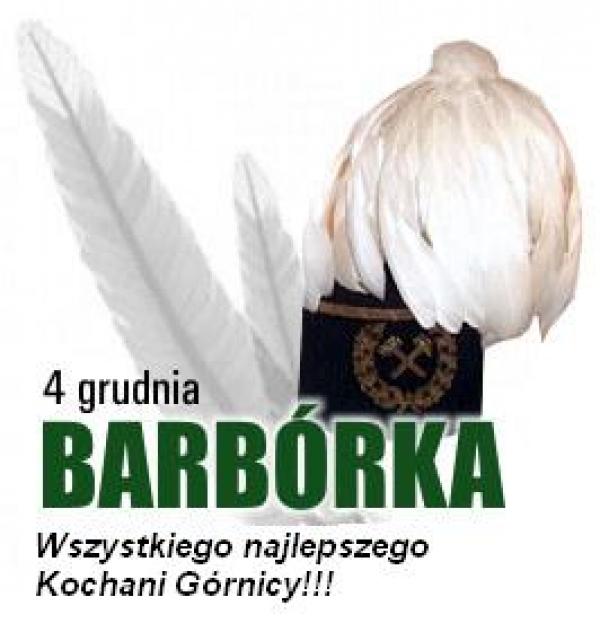 Życzenia barbórkowe z okazji święta polskiego górnictwa