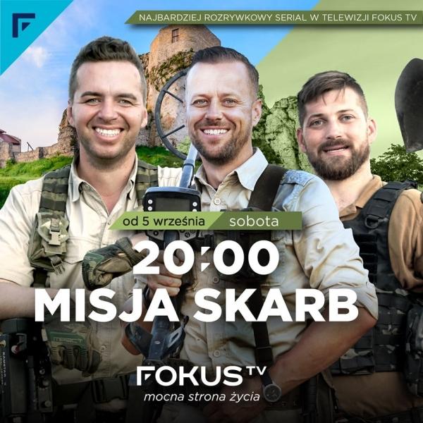 """Geosolum w programie telewizyjnym Misja Skarb odcinek pt. """"Zagadki Twierdzy Modlin"""""""